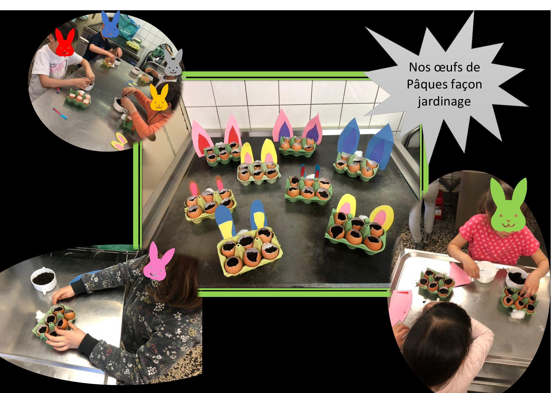 Activité périscolaire élémentaire bricolage – jardinage, les mardis de 16h à 17h